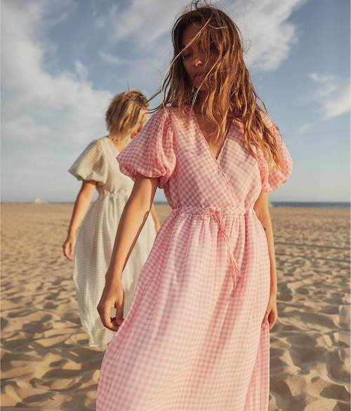 STYLECASTER | Best Sustainable Clothing Brands | gingham dress