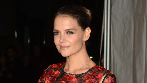 Katie Holmes Debuts the Exact Bangs You've Been Thinking About Getting | StyleCaster