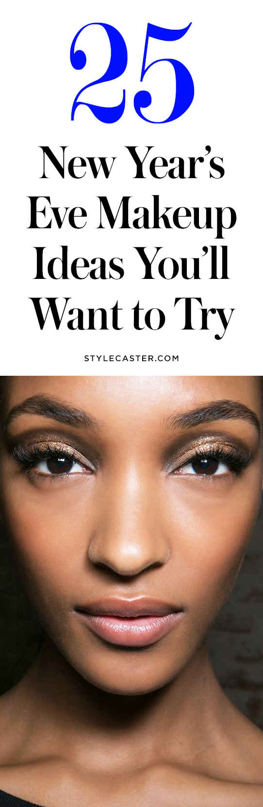 25 New Year's Eve makeup ideas | @stylecaster