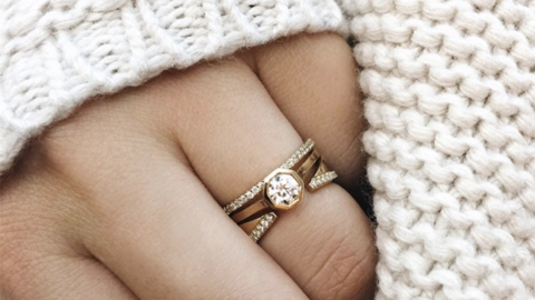 We Can't Stop Staring at These Stunning Wedding Rings for Women | StyleCaster