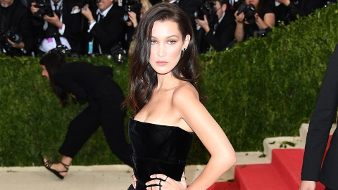 Bella Hadid Flashed Her Breasts in Paris in a Sheer Top | StyleCaster