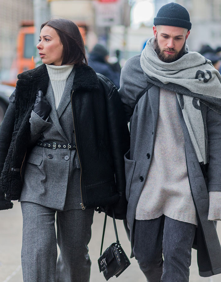 cold weather couple