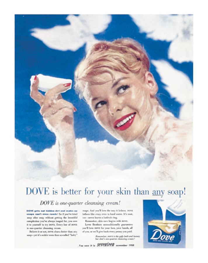 dove vintage ads 2 You NEED to See These Vintage Ads Dove Released for Their 60th Anniversary