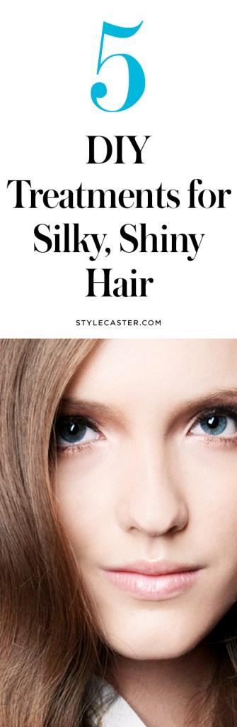 dry hair treatments1 5 DIY Dry Hair Treatments to Get Silky, Shiny Hair Tonight