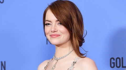 Emma Stone Used a $7 Drugstore Hair Product for Her Golden Globes Hairstyle   StyleCaster