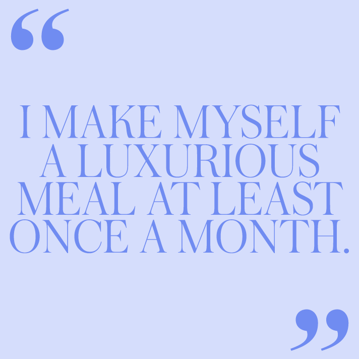 food quote 12 Women on the Self Care Rituals They Swear By