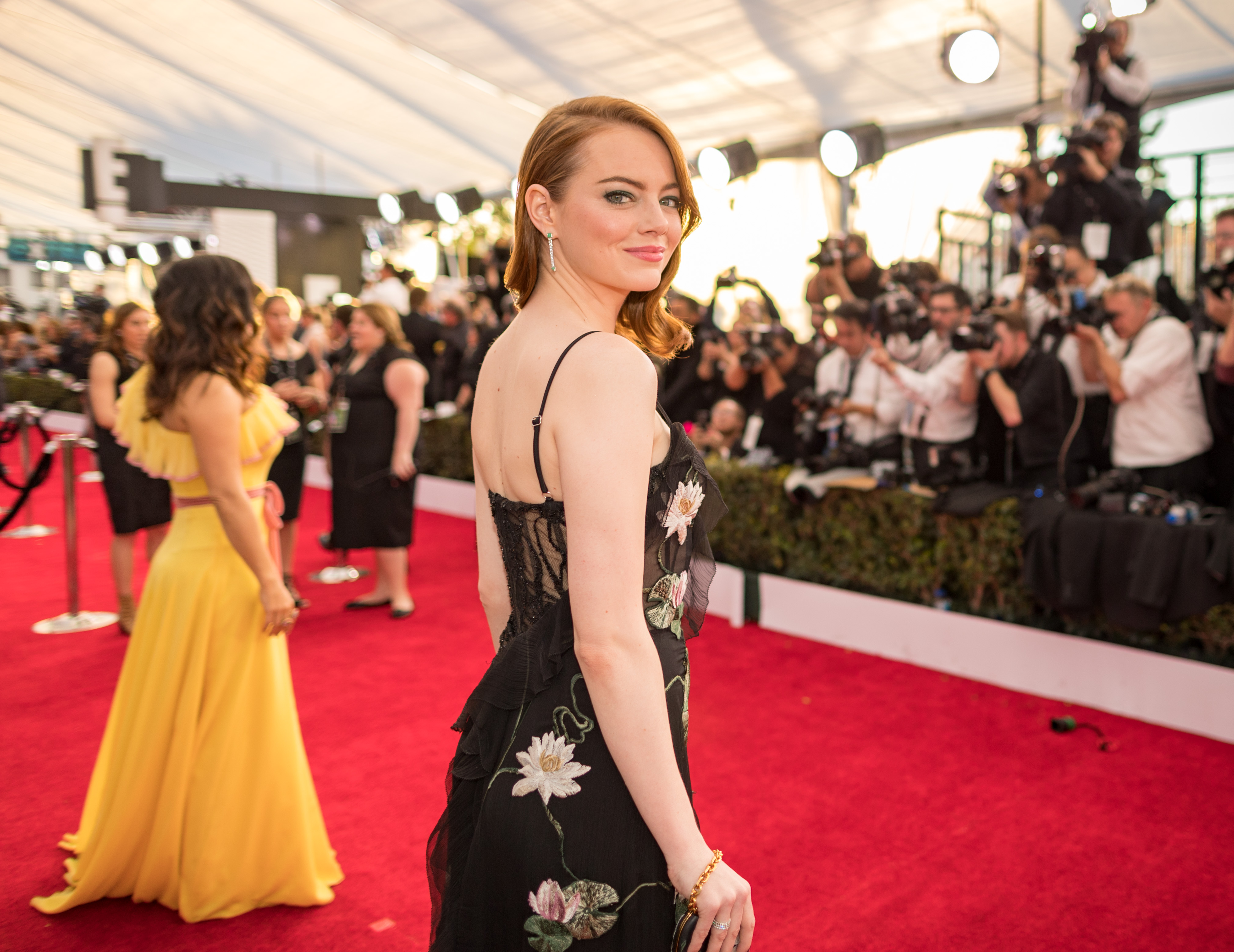 The Best Behind-the-Scenes Instagrams of the SAG Awards 2017