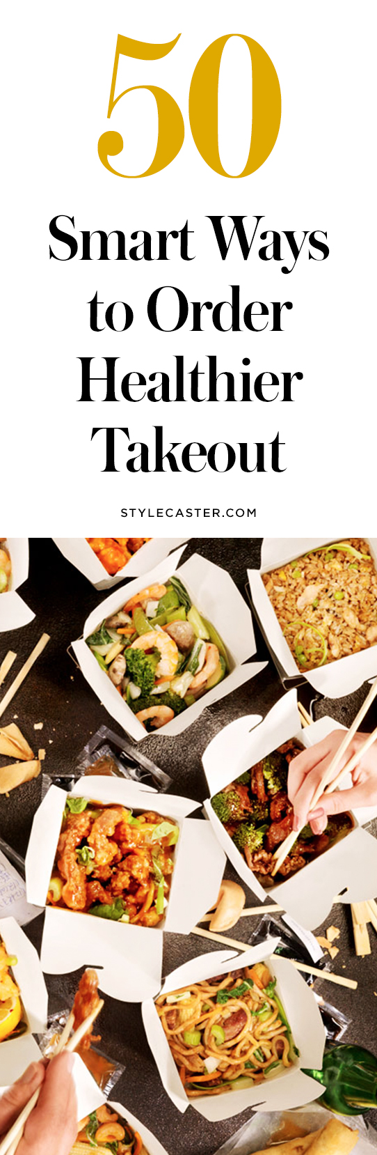 50 ways to order healthy takeout | @stylecaster
