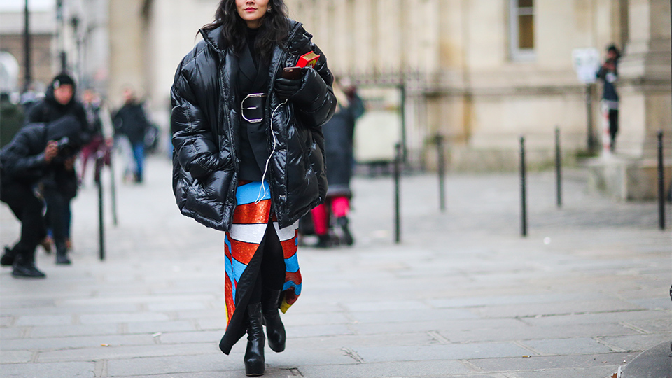 How to Wear Skirt in Winter