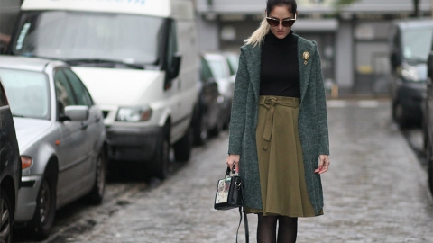 25 Ways to Wear Tights in the Winter | StyleCaster