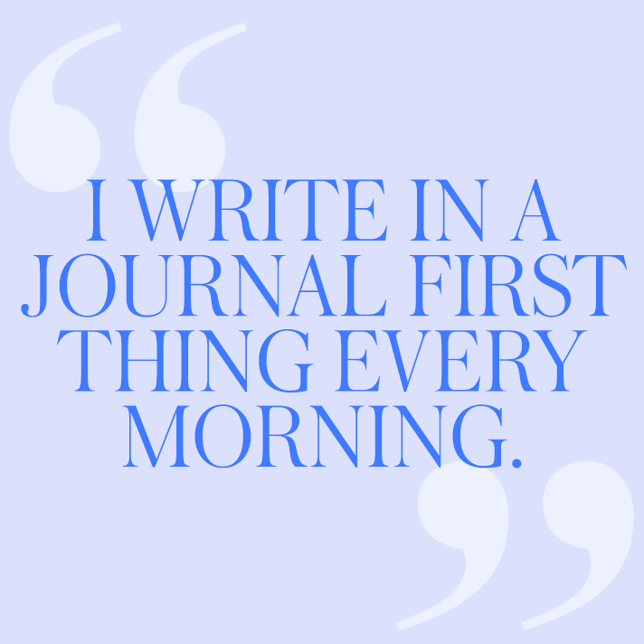 journal quote 12 Women on the Self Care Rituals They Swear By