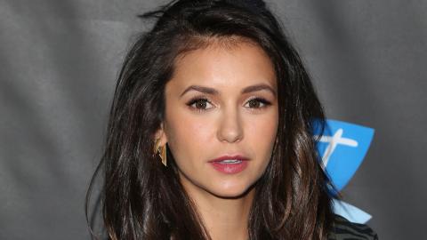 Red Alert: Nina Dobrev Chopped Her Hair into a Lob | StyleCaster