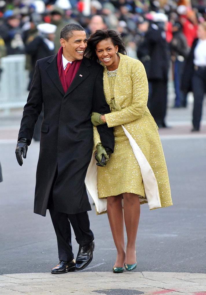 Obama Michelle Inauguration
