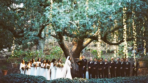 25 Inspiring Photos From a Rustic-Chic Winter Wedding | StyleCaster