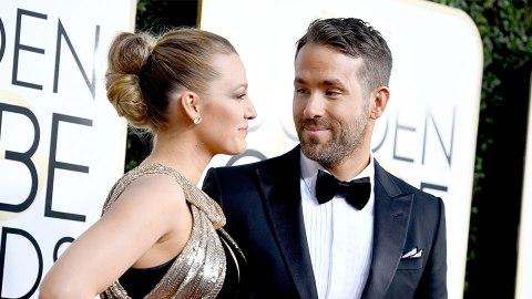 Uh, Ryan Reynolds Had a *MAJOR* Spray Tan Fail at the Golden Globes   StyleCaster