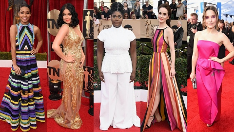 Every Single Red Carpet Look from Tonight's SAG Awards | StyleCaster