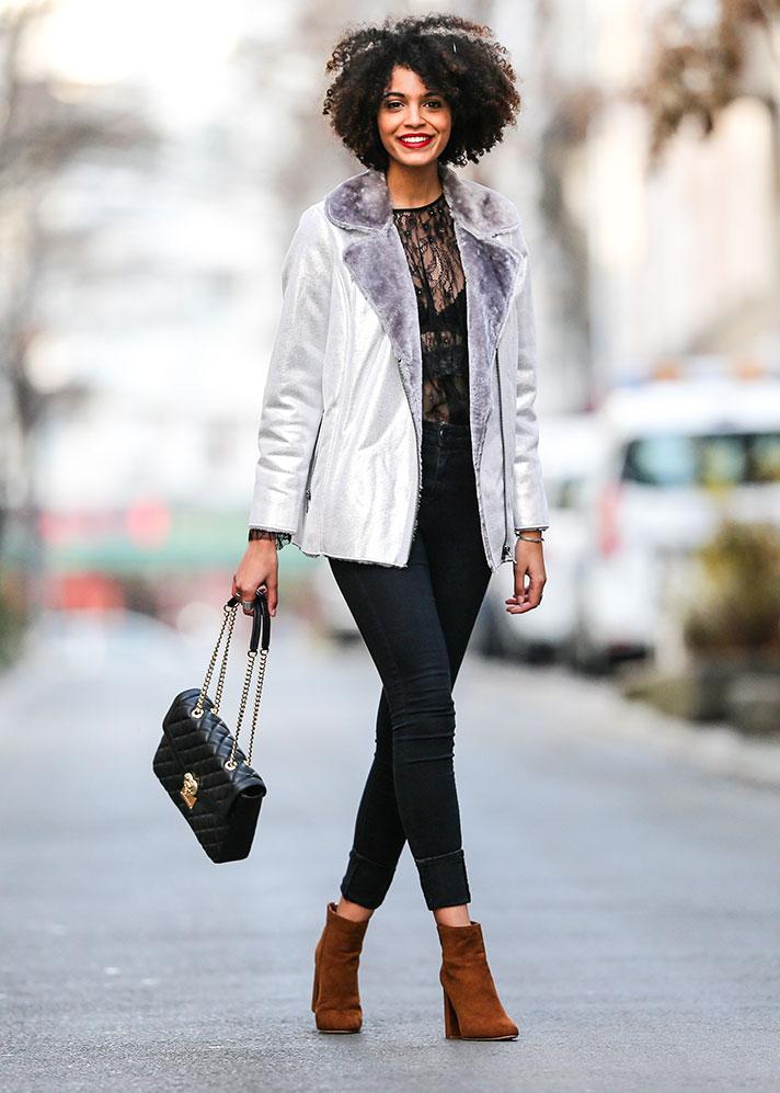 Stylish Happy Working Woman