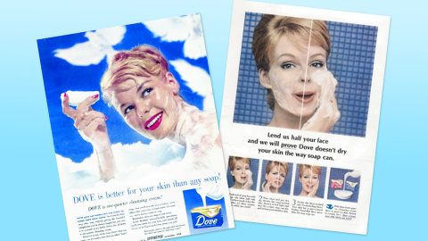 Uh, You *NEED* to See These Vintage Dove Ads From the '50s | StyleCaster