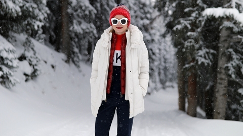 27 Cute Outfits You Can Actually Wear in the Snow | StyleCaster