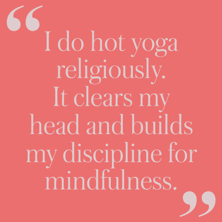 yoga quote 12 Women on the Self Care Rituals They Swear By
