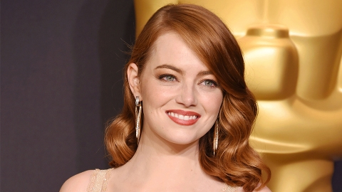 Uh, Emma Stone Used Only Drugstore Hair Products for Her Oscars Hairstyle | StyleCaster