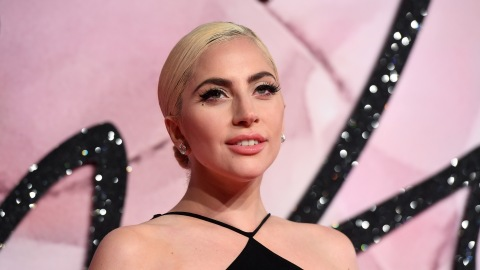 Lady Gaga Debuts Pink Hair and a Massive Back Tattoo at the Grammys | StyleCaster