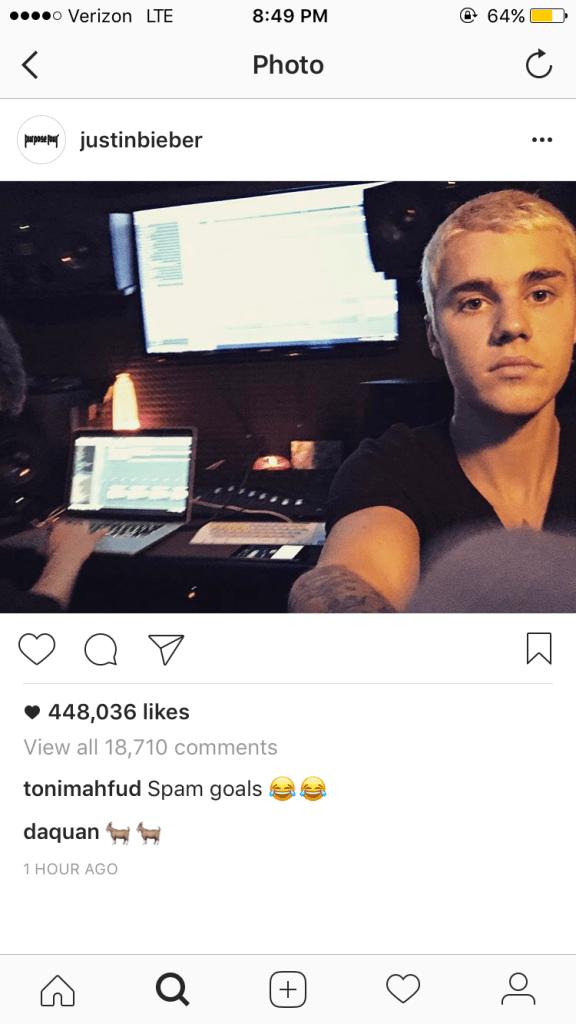 Photo: Instagram / @justinbieber