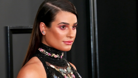"""Lea Michele Officially Just Got """"Instagram"""" Hair 