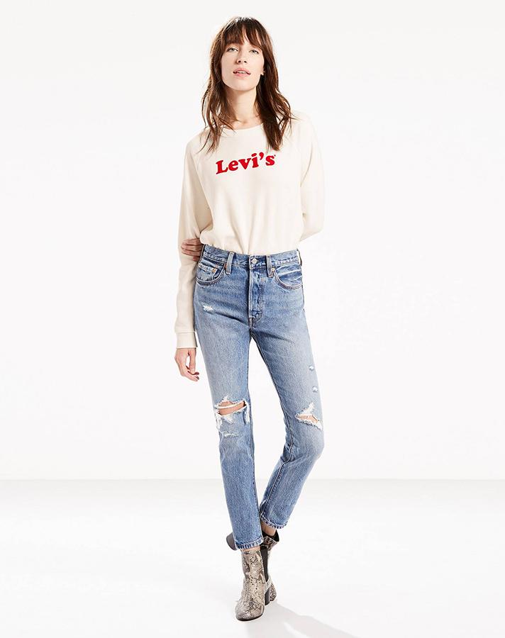 501 Skinny Jeans, $98; at Levi's
