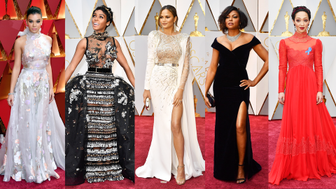 Every Single Oscars Red Carpet Look | StyleCaster