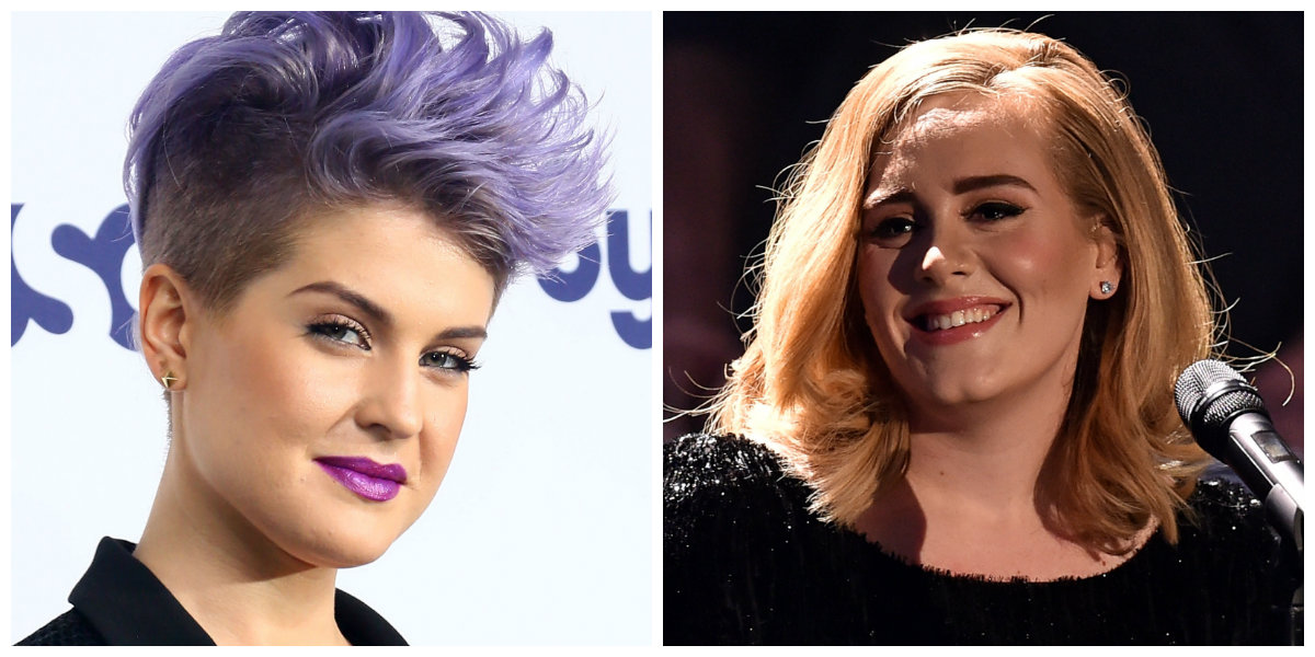 Adele and Kelly Osbourne Look *So* Different in This Throwback Pic