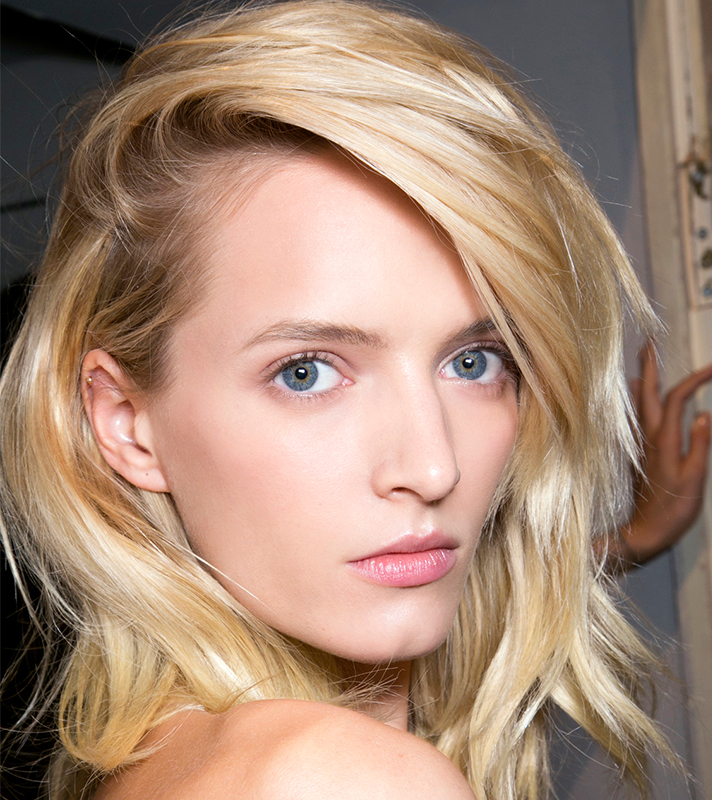 blonde lob bangs inspo 9 Insanely Good Hair Products You Didnt Know Were at Walmart