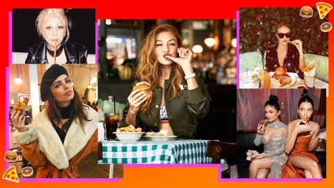 These Are Celebs' Fave Cheat-Day Junk Foods | StyleCaster