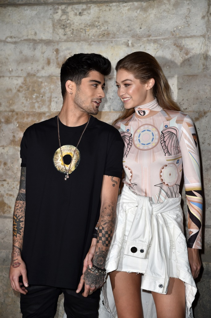 gettyimages 612044366 Zayn Malik & Gigi Hadid Might Be Back Together, According to This Clue