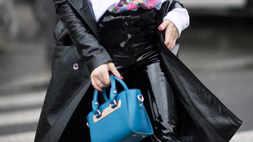 How To Pull Off Patent Leather