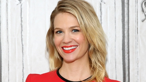 January Jones Just Got The Coolest, Shaggy Haircut of Your Dreams | StyleCaster