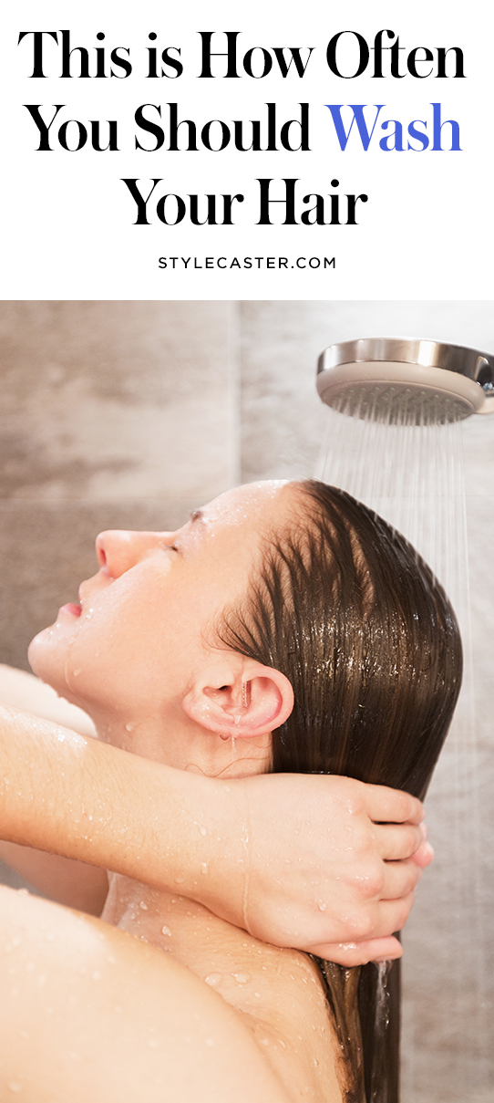 STYLECASTER | How Often to Wash Hair