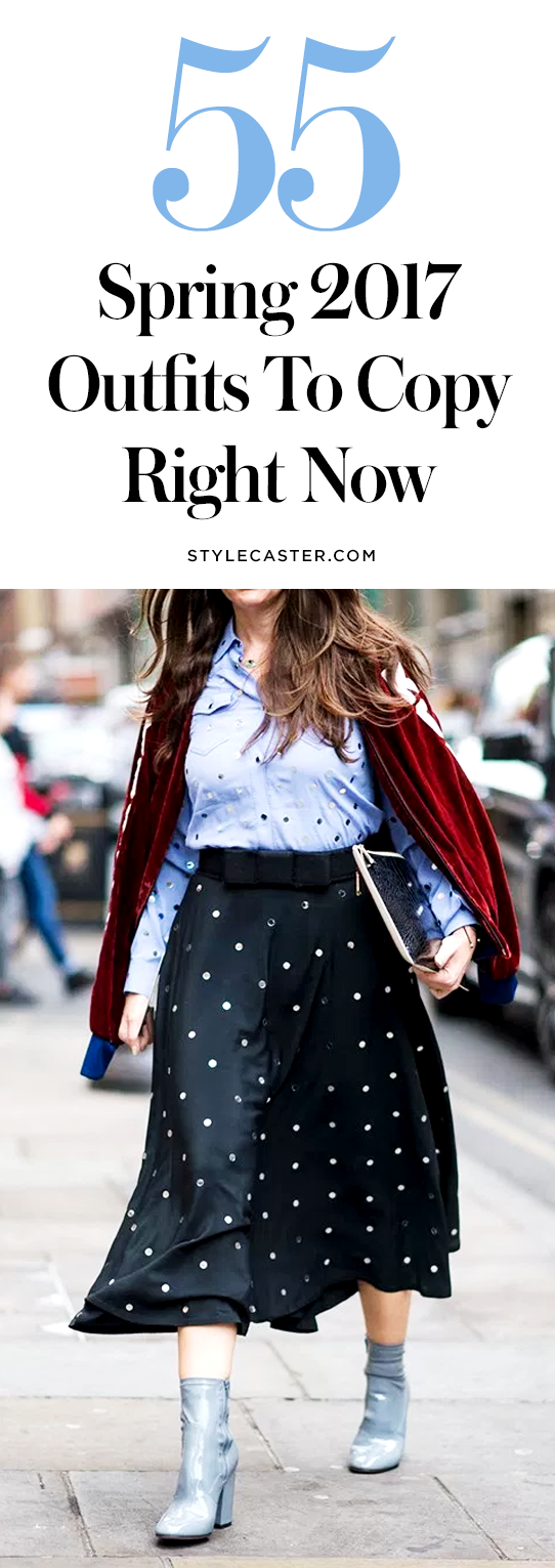 55 Spring 2017 Outfit Ideas to Copy Right Now | @stylecaster