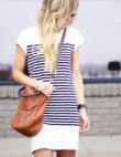 25 T-Shirt Dress Outfits That Are Everything for Spring
