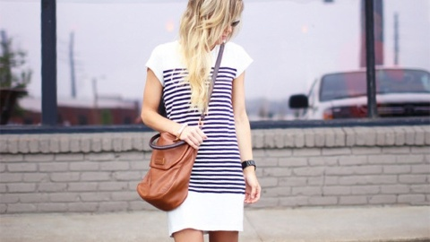 25 T-Shirt Dress Outfits That Are Everything for Spring | StyleCaster