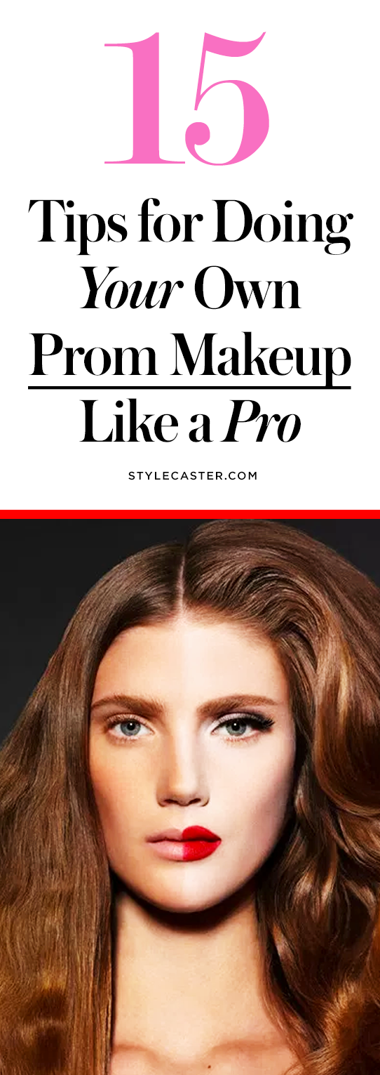 How To Do Your Own Prom Makeup Like A Pro  StyleCaster