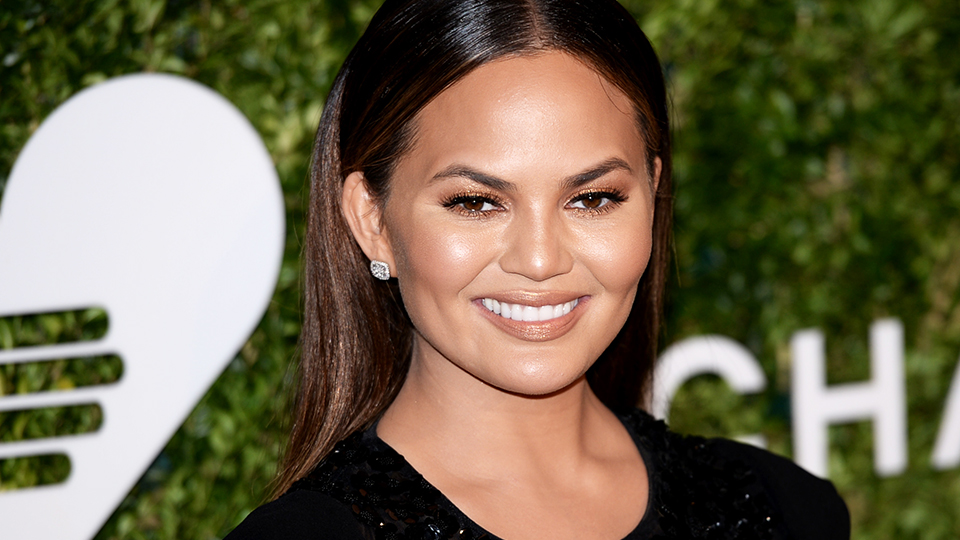 Chrissy Teigen's Old Cheerleading Photo Is the Perfect #TBT
