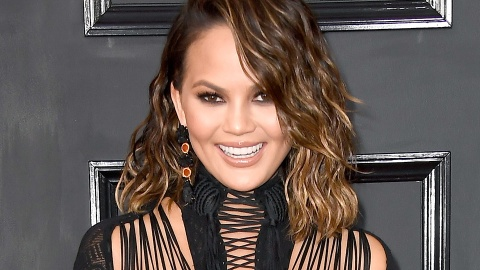 Here's What Happened When Chrissy Teigen Couldn't Remove Her Hair Extensions | StyleCaster