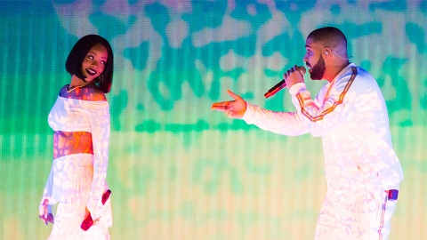 Drake Was Left on Read by Rihanna During an Instagram Live & Now We're Cringing | StyleCaster
