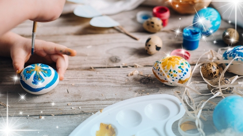 Let This Fashion-Forward Easter Egg Inspo Inspire You To Deck Out Your Basket | StyleCaster