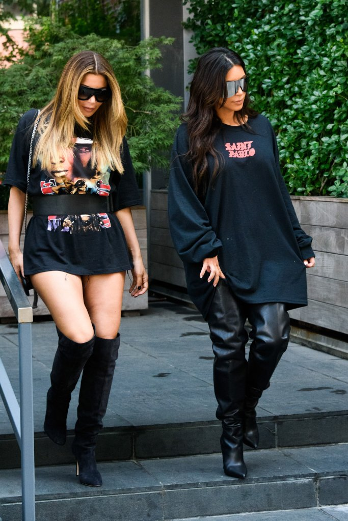 gettyimages 600629060 Kim Kardashian and Larsa Pippen Send Each Other Naked Photos All the Time