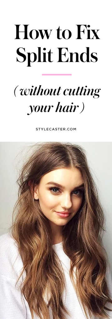 how to fix split ends without cutting them