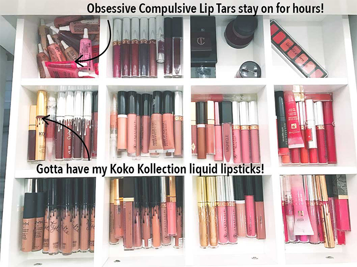 khloe kardashian makeup Khloe Kardashian's Makeup Storage Organization is Our Actual Dream