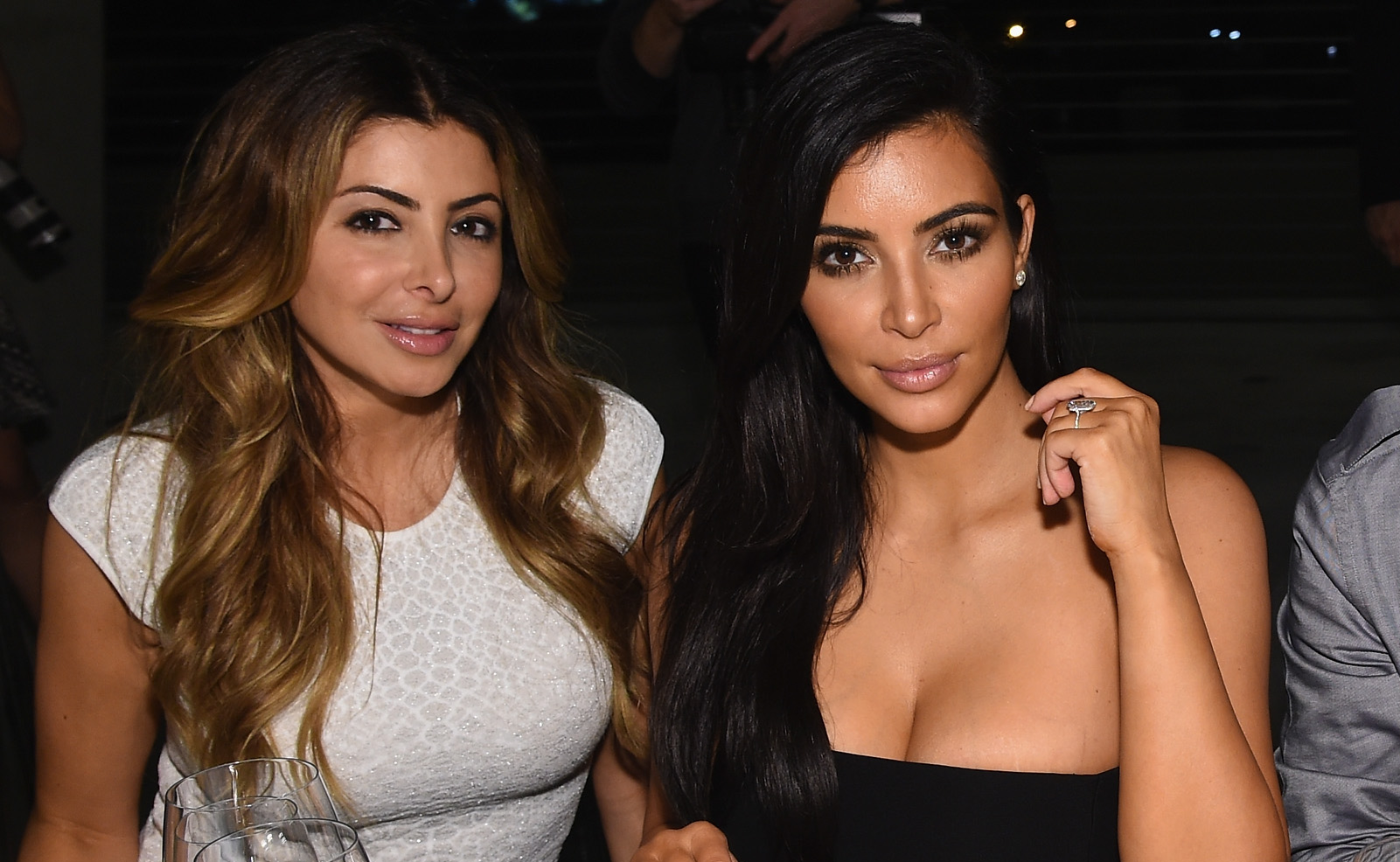 Kim Kardashian and Larsa Pippen Send Each Other Naked Photos 'All the Time'