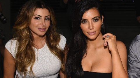 Kim K and Larsa Pippen Send Each Other Naked Photos 'All the Time' | StyleCaster